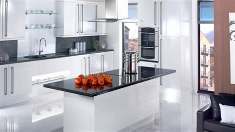 white gloss kitchen designs 17 white and simple high gloss kitchen designs home