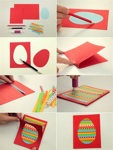 ideas for cards for children to make diy easter card ideas to make at home