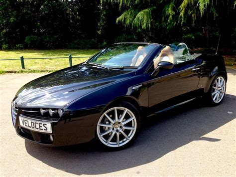 Used Alfa Romeo Spider by Used 2008 Alfa Romeo Spider 2 2 Jts Limited Edition 2dr