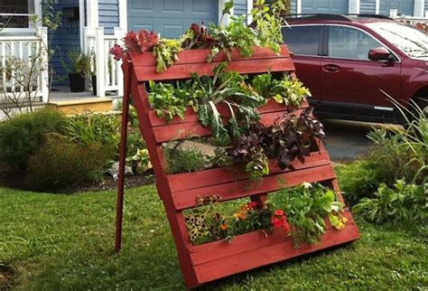 diy pallet vertical garden projects pallet wood projects