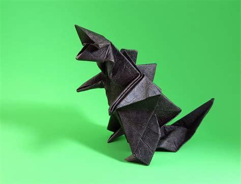 gilad origami origami godzilla gilad s origami page
