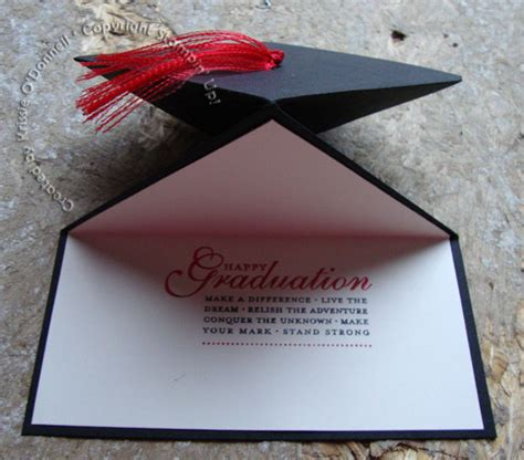 how to make a graduation cap card graduation cap card strictly stin