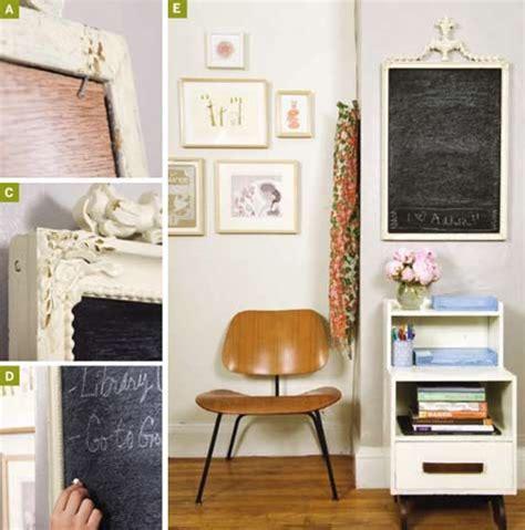diy chalkboard from mirror diy project magnetic chalkboard mirror design sponge