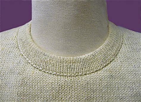 sew easy knitting machine ravelry cut and sew neckline tutorial for knitting