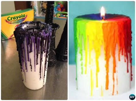 candle craft projects diy blood candle craft ideas picture