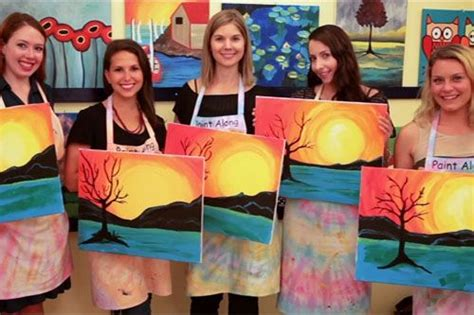 paint nite groupon nyc 17 best ideas about byob painting on