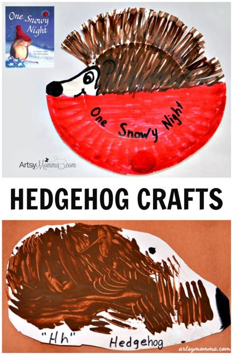 hedgehog paper plate craft paper plate hedgehog craft preschool hibernation