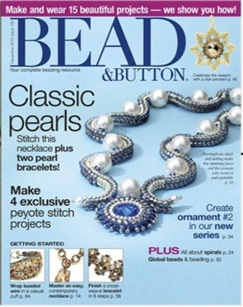 bead and jewellery magazine bead and button american jewlery magazine