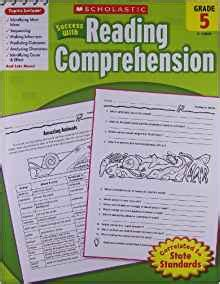 scholastic success with reading comprehension grade 3 scholastic success with reading comprehension grade 5