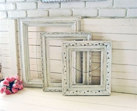 shabby chic picture frame ideas 1000 ideas about shabby chic picture frames on