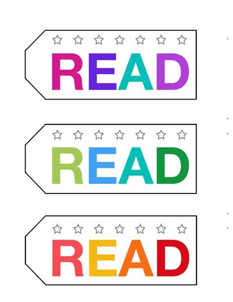 Punch Card Bookmark To Encourage Reward Reading It S