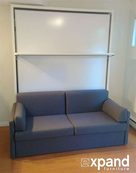 murphy bed with shelves compatto murphy bed sofa with floating shelf