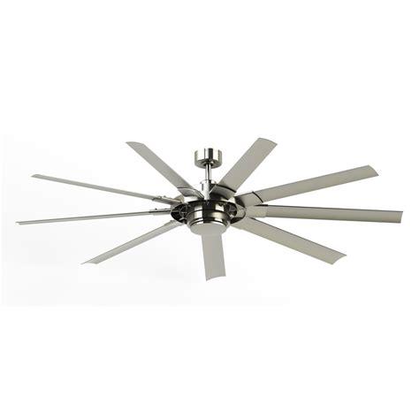commercial outdoor ceiling fans shop fanimation studio collection slinger v2 72 in brushed