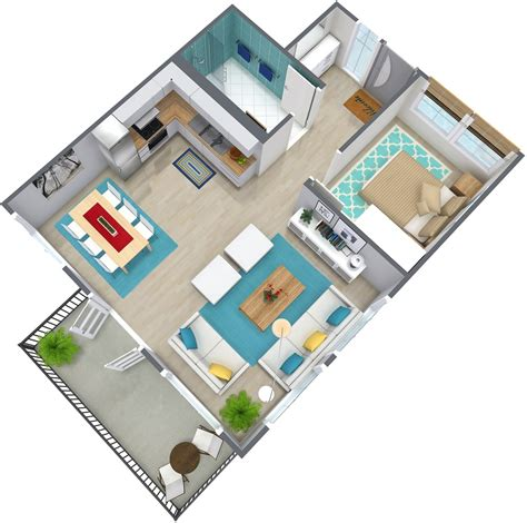 bedroom plans 1 bedroom apartment floor plan roomsketcher
