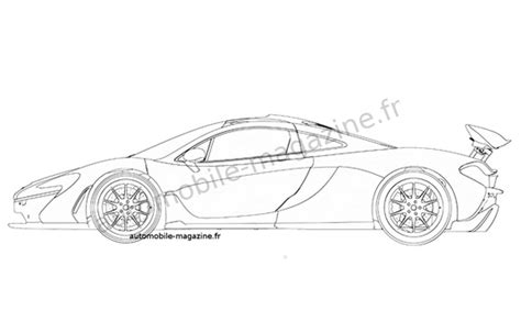 McLaren P1 Patent Sketches Photo Gallery   Autoblog