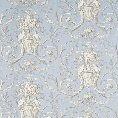 Pink Retro Kitchen Collection cherubs toile wallpaper sky graphite cream degtch102