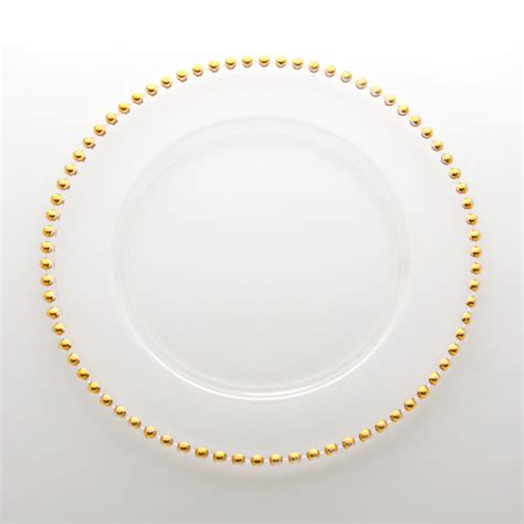 gold beaded chargers atlas rental belmont gold beaded charger plate
