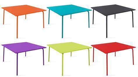 table jardin carree 8 personnes conceptions de maison blanzza