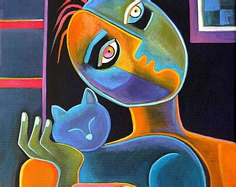 original picasso paintings for sale modern cubism original painting on canvas marlina vera