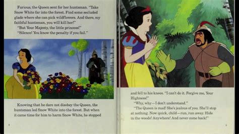 snow white story book with pictures snow white and the seven dwarfs disney read along book