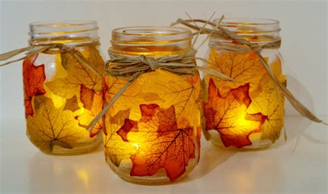 cool fall crafts for 12 cool diy jar crafts to welcome fall shelterness