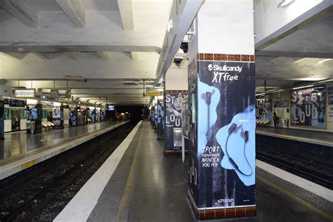 skullcandy et thiago silva squattent la station de m 233 tro porte de cloud sportbuzzbusiness fr