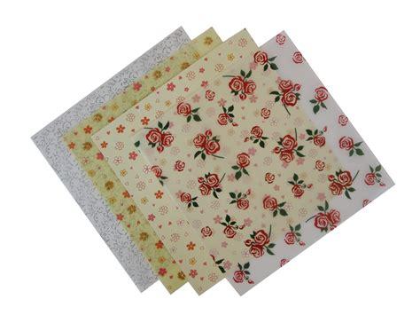 patterned craft paper uk patterned floral vellum paper 4 sheets craft factory