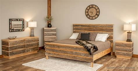 modern rustic bedroom furniture modern barn wood bed contemporary rustic bed mountain