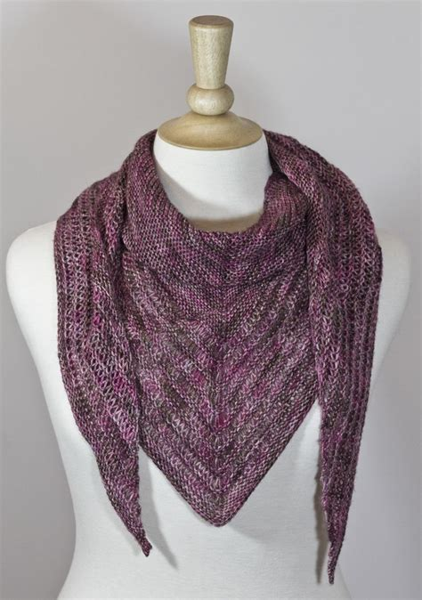 knitted scarf patterns using sock yarn one skein of sock yarn one stitch marker and 4mm needles