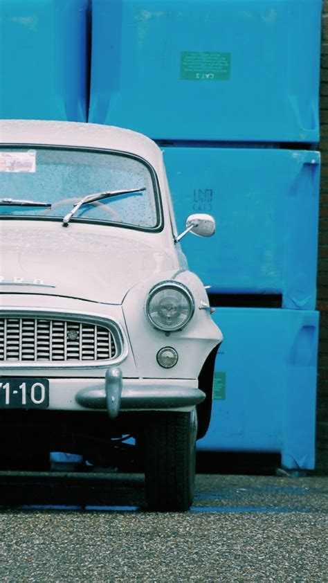 720 X 1280 Car Wallpaper by Auto Retro Front View Wallpaper 720x1280