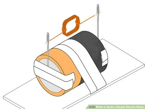 Simple Motor by How To Build A Simple Electric Motor 10 Steps With Pictures