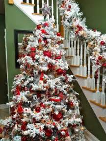 ideas for decorating white trees 30 dreamy flocked tree decoration ideas