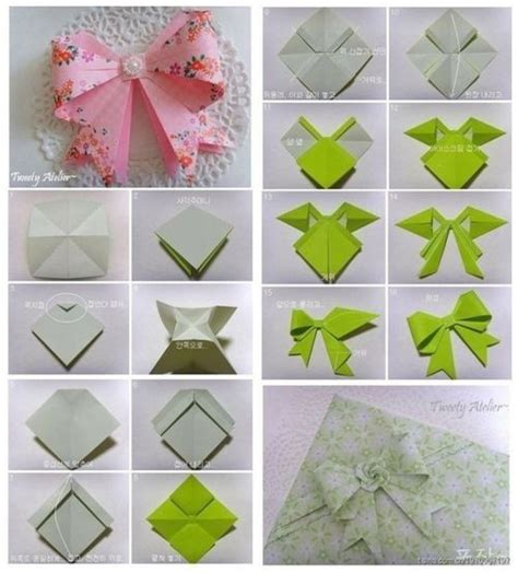 how to make an origami bow 25 best ideas about origami bow on diy