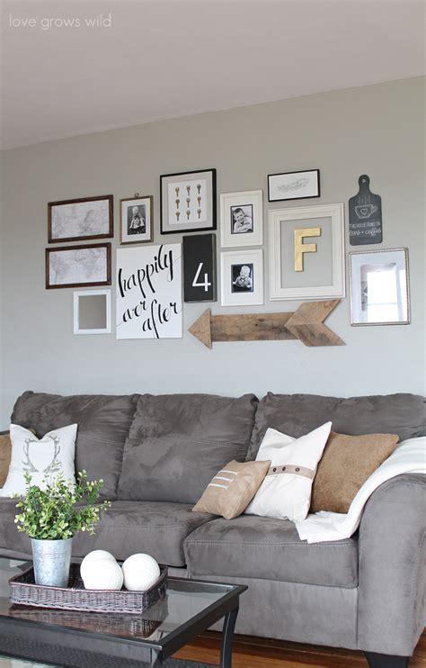 livingroom wall living room gallery wall grows