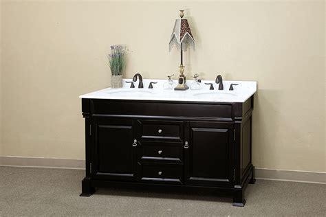 Counter Top Materials bellaterra home bathroom vanity antique espresso finish