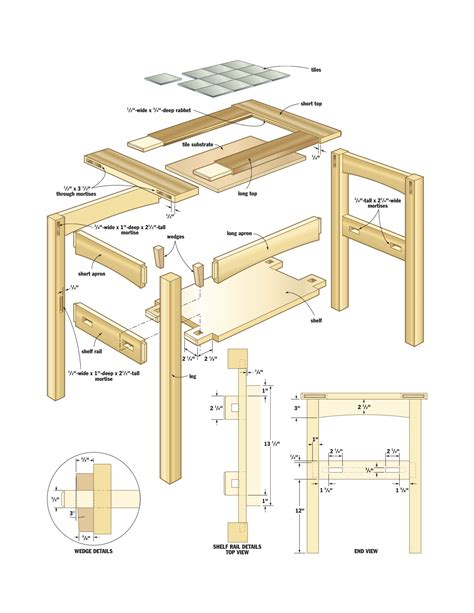 woodworking plans plans for a small end table woodworking plans