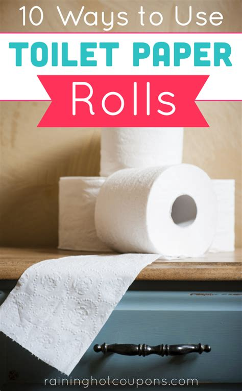 using toilet paper rolls 10 ways to use toilet paper rolls