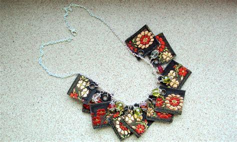 material to make jewelry decorative ribbon necklace 183 a ribbon necklace 183 jewelry