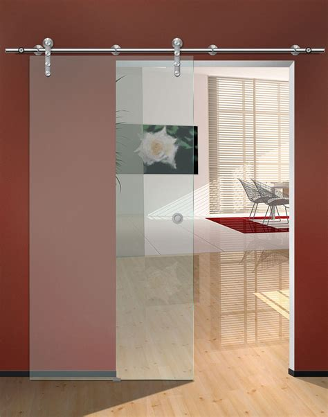 frosted glass sliding doors interior single frosted glass sliding door for small home office