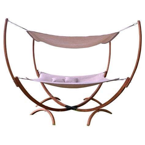 outdoor hammock with stand leisure season hammock with stand reviews wayfair