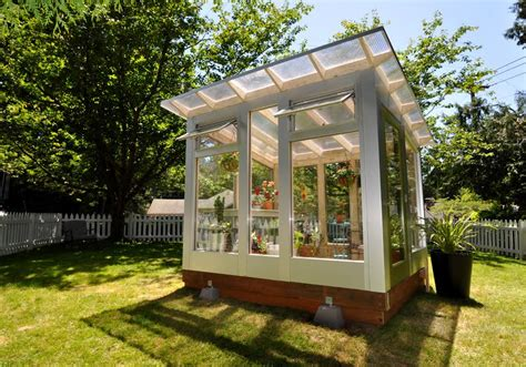 Prefab Outdoor Kitchen Island how to customize a shed as a home office or rec space