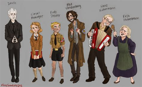book character pictures the book thief favourites by serendipitydreamer on deviantart
