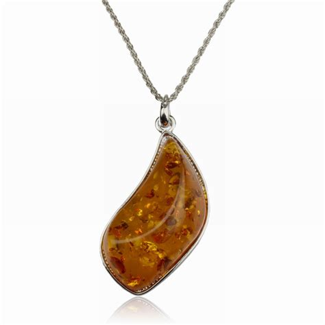 large pendants for jewelry vintage necklace large silver filled brown drop resin