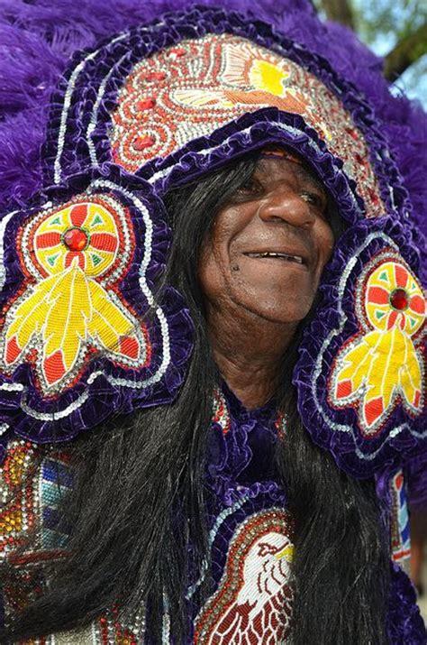 black mardi gras black indians during mardi gras masks of