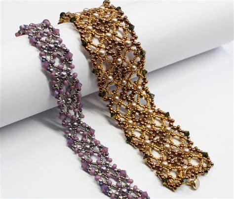free beaded bracelet patterns bead wonders beautiful free patterns by sabine lippert