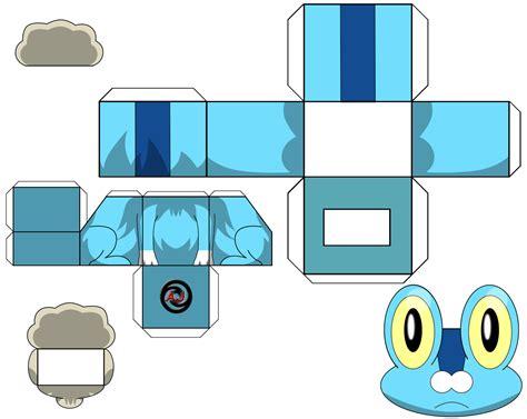 paper cube craft cubecraft x y papercraft fennekin cubecraft