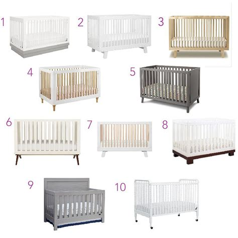baby crib modern top 10 modern baby cribs cc and mike lifestyle and