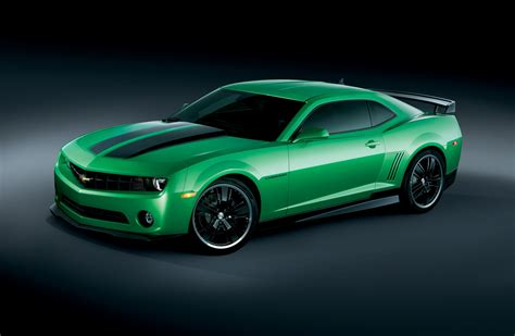 Car Wallpaper Green by Green Cars Vehicles Chevrolet Camaro Wallpapers
