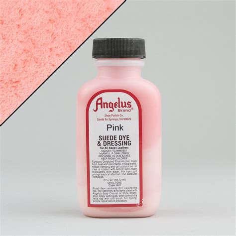 angelus paint pink angelus leather paint dyes pink suede dye 3oz