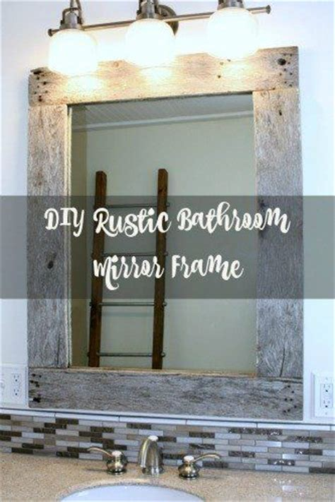 bathroom mirror frame ideas 17 best ideas about frame bathroom mirrors on